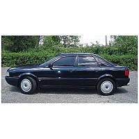 """Audi 80 Sd (B3/B4) 1986-1995 дефлекторы окон """"Cobra Tuning"""""""