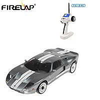 Машинка на радиоуправлении Firelap Ford GT 1:28, полный привод, шины для дрифта и гоночные (серый)