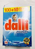 Стиральный порошок Dalli Sensitive 7.15кг 110 ст.