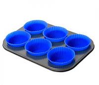Форма для выпечки кексов с силиконовыми формочками