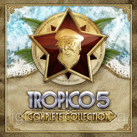 Tropico 5 — Complete Collection Ps4 (Цифровий аккаунт для PlayStation 4) П3