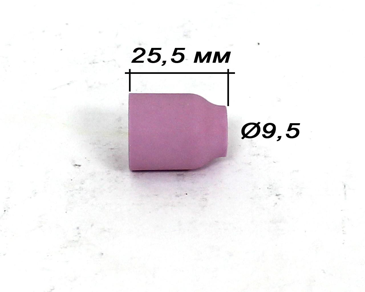 Сопло под газовую линзу для TIG-горелки WP-9/20 №6 (53N60)