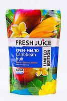 Жидкое крем - мыло Fresh Juice , манго и цветок  лимона с маслом арганы, 460 мл.