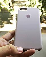 Силиконовый чехол Apple Silicone Case для iPhone 7 / 8  Люкс качество чехлы на айфон лавандовый