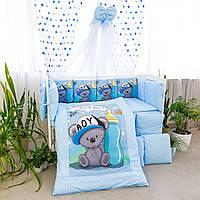 Комплект постельного белья Мишка2 подушки
