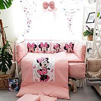 Детское постельное бельё Минни подушки