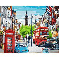 Картина раскраска по номерам на холсте - 40*50см BrushMe GX33932 Ясный день в Лондоне