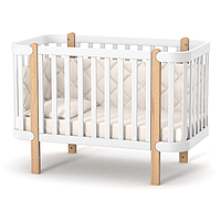 Детская кроватка Верес Монако цвет Бело-Буковый, фото 1