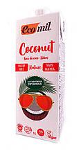 "Молоко ""Кокосовое"" без цукру 1л ТМ Ecomil"