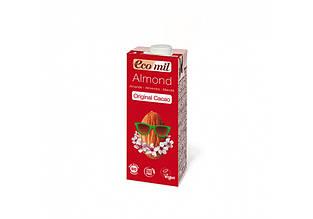"Молоко ""Мигдальне з сиропом агави та какао"" 200мл ТМ Ecomil"