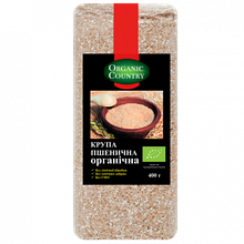 Крупа пшенична органічна ТМ Organic Сountry