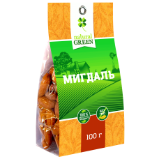 Мигдаль 100г ТМ Natural Green