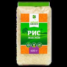 Рис жасмін 400г ТМ Natural Green