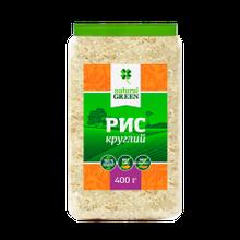 Рис круглий 400г ТМ Natural Green