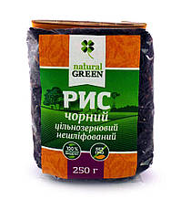 Рис чорний 250г ТМ Natural Green