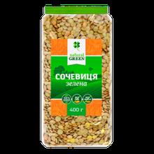 Сочевиця зелена 400г ТМ Natural green