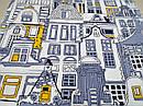 Ткань вафельная ширина 50 см Город, фото 4