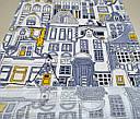 Ткань вафельная ширина 50 см Город, фото 3