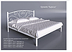 Кровать металлическая - Карисса, фото 3