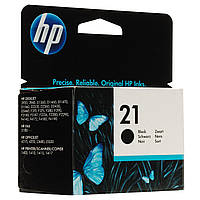 Картридж HP 21 DeskJet 3920/3940/PSC1410 Black 150 страниц