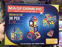 Магнитный конструктор Magformers 38 деталей, Развивающий Конструктор магнитный 34 x 5 x 26 см