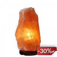 Соляной светильник Supretto с подсветкой Коричневый (5242)