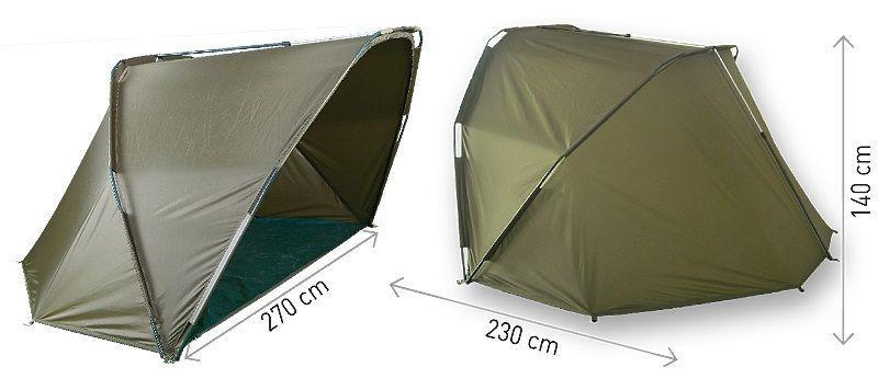 Рыболовная полупалатка Carp Zoom Expedition Shelter (CZ3499)