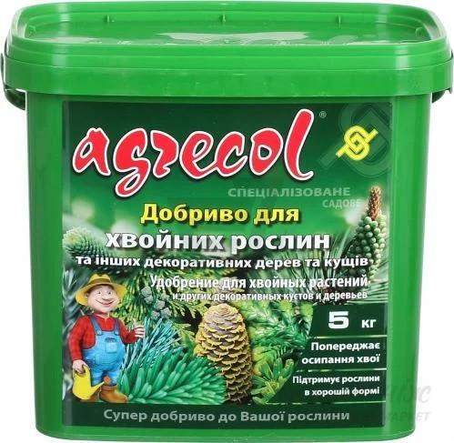 Удобрение для хвои Хортифоска Agrecol 5 кг