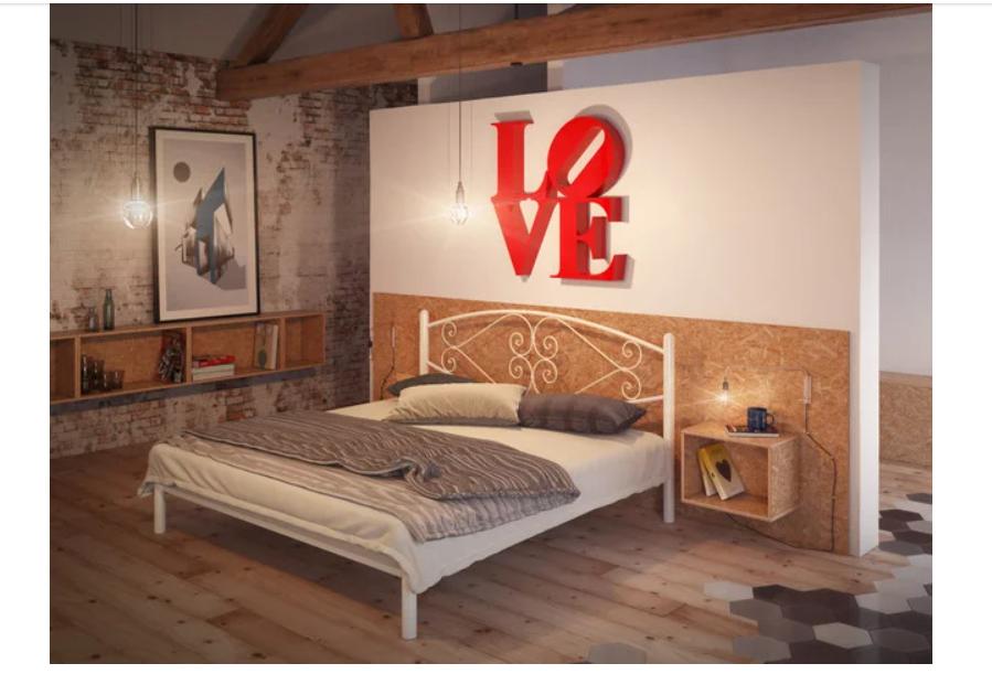 Кровать металлическая - Камелия