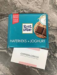 Молочный шоколад Ritter Sport Haferkeks+Joghurt 100 грм