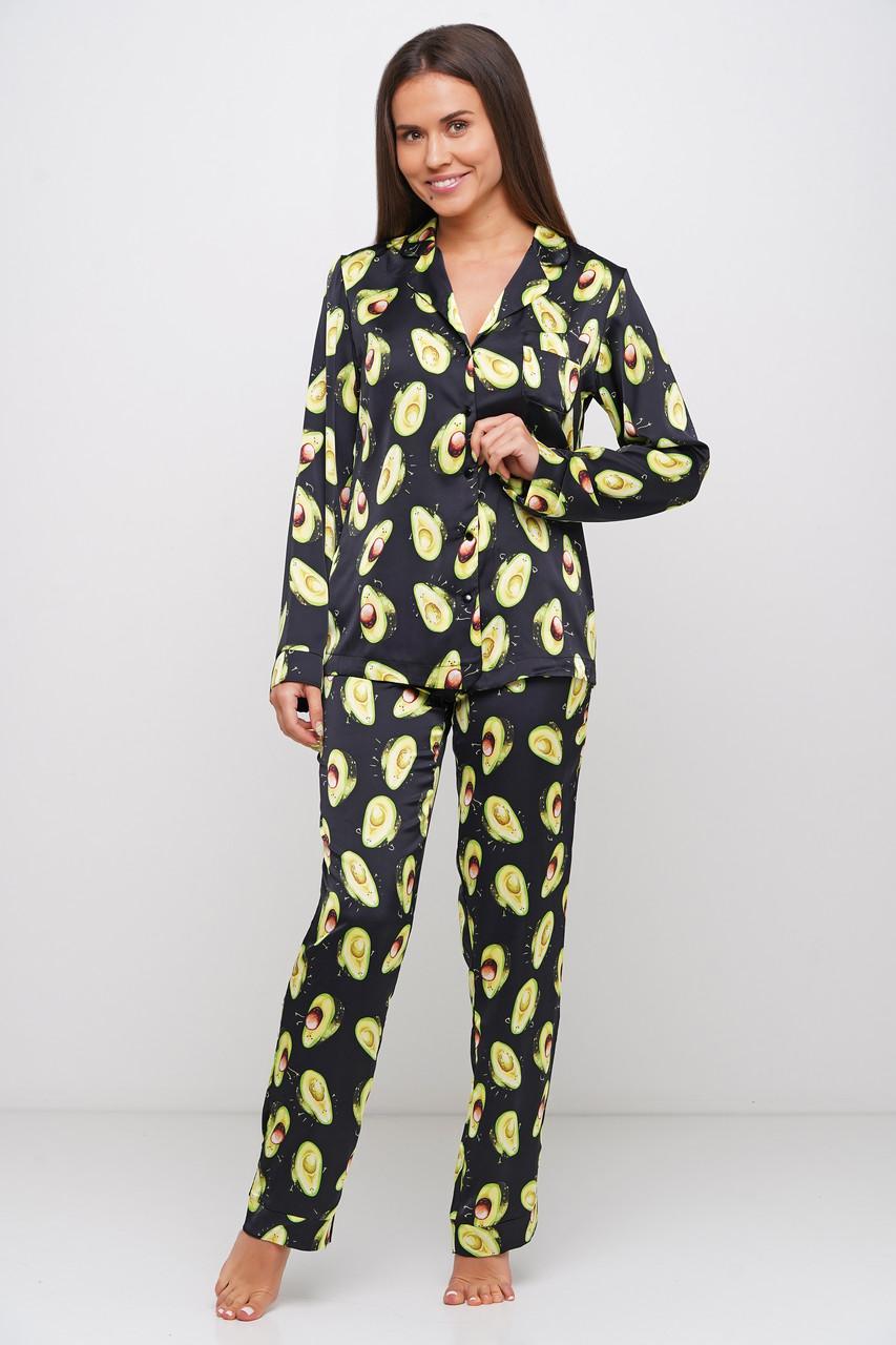 Пижама женская с авокадо пиджак, штаны Orli
