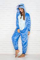 Пижама кигуруми Funny Mood Стич M Голубой