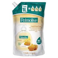 Жидкое мыло для рук Palmolive Naturals Latte e Miele питательное Молоко и мёд дойпак, 1000 мл