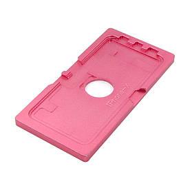 Форма металлическая для Apple iPhone X, для фиксации комплекта дисплей + тачскрин при склеивании