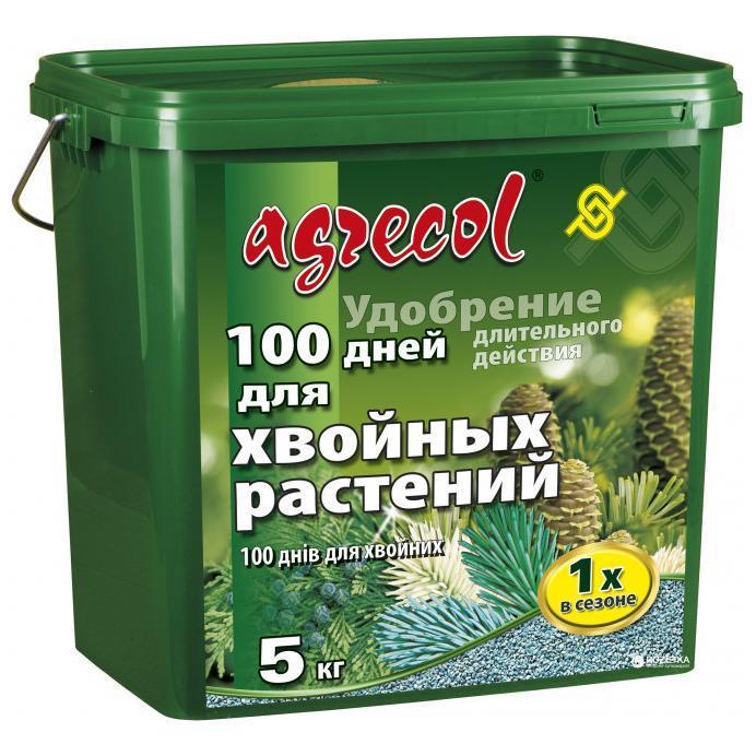 Удобрение для хвои 100 дней Agrecol 5 кг