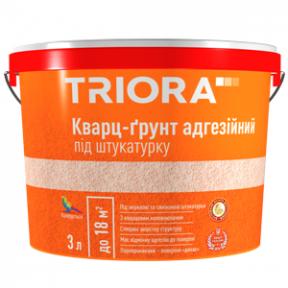 Кварц-грунт під штукатурку 3л TRIORA