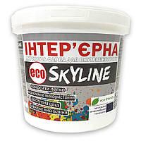 Краска акриловая для стен и потолков ИНТЕРЬЕРНАЯ ECO SkyLine 10л