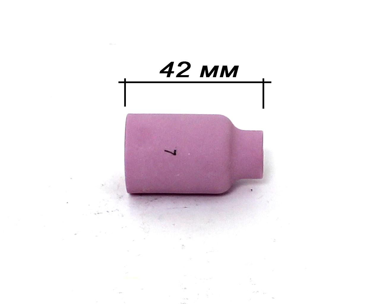 Сопло под газовую линзу для TIG-горелки WP-17/18/26 №7 (54N15)