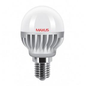 Лампочка LED G45 4W 4100K 220V E14 AL MAXUS