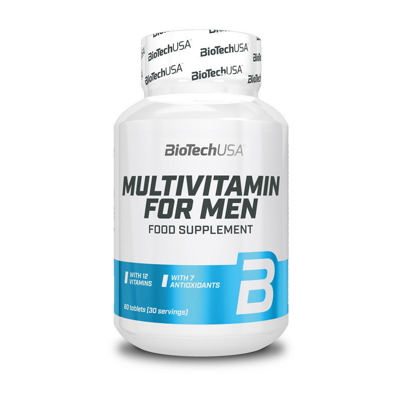 Мультивитамины для мужчин BioTech Multivitamin for men Men`s Perfomance (60 tabs)