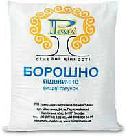 Мука пшеничная Рома высший сорт мешок 25 кг, фото 1