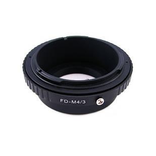 Адаптер перехідник для Canon FD - Micro 4/3 M4/3 Ulata