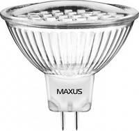 Лампочка LED MR16 3х1 HPLED 3.5W 4100K 220V G5.3  MAXUS