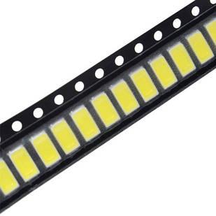 10x 5630 SMD LED 3В 0.5Вт SPBWH1532S1ZVC1BIB подсветки матриц ТВ SAMS