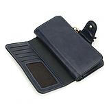Женский кошелек, портмоне Baellerry N2341 Тёмно-Синий, фото 3