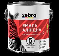 Емаль ПФ-266 0,9кг ЗЕБРА 85 Жовто-коричневий