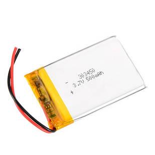 Аккумулятор 303450 Li-pol 3.7В 500мАч для RC моделей DVR GPS MP3 MP4