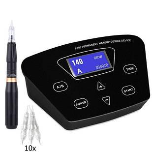 Аппарат для перманентного макияжа татуажа Biomaser P300 и машинка HP-100
