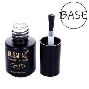 Базовое покрытие база для гель-лака шеллака Rosalind 7мл