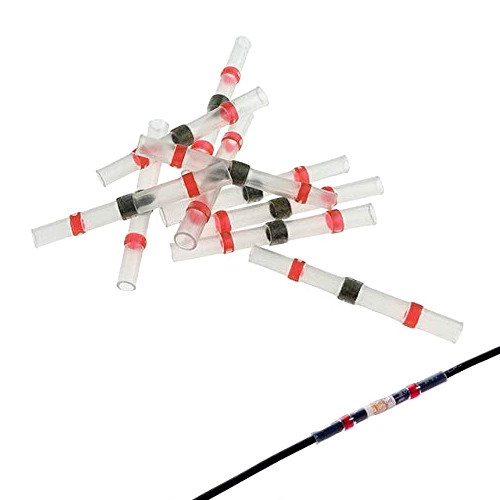 10x Термоусаживаемая гільза термоусадка з оловом припоєм AWG22-18